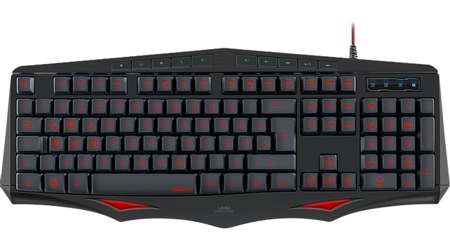 Speedlink - LAMIA Gaming Keyboard, black - Speedlink
