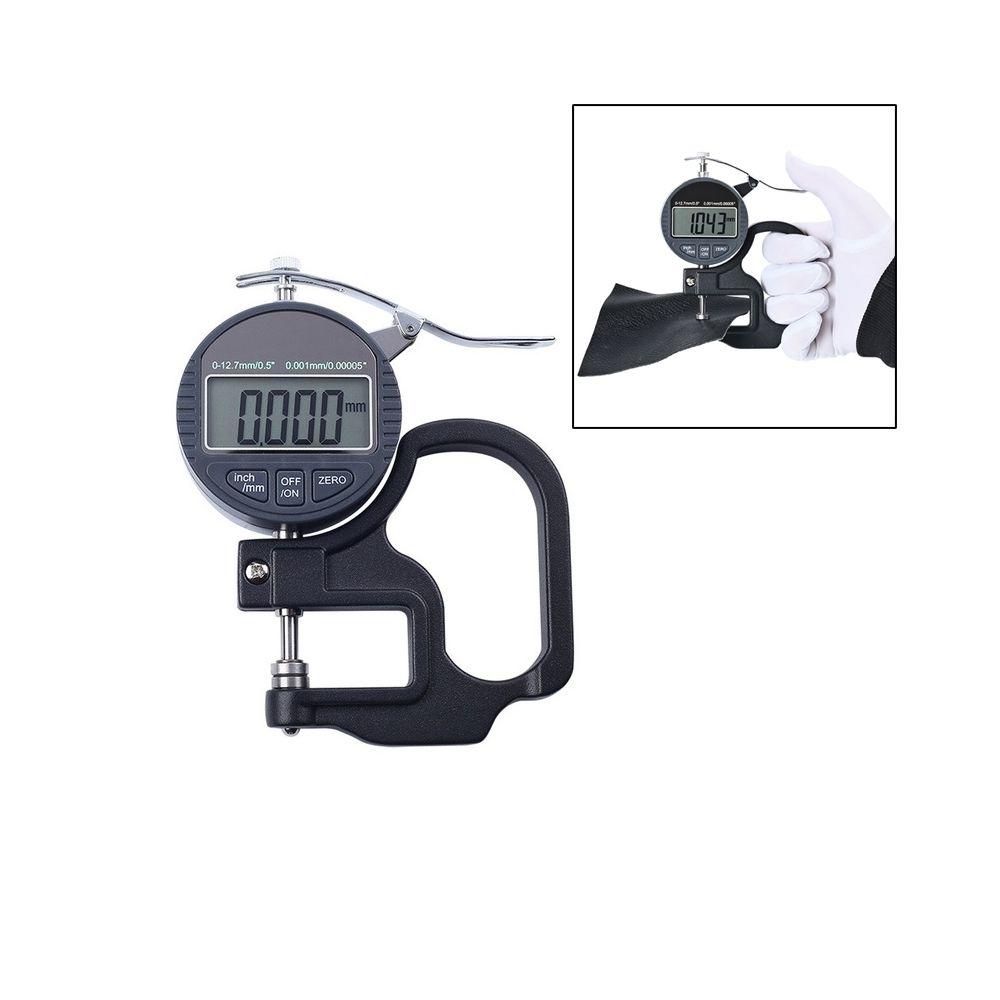 Wewoo Jauge d'épaisseur de micromètre d'affichage numérique de la gamme 0-10mm