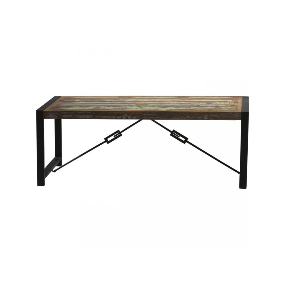 Bobochic BOBOCHIC Table basse en bois recyclé MUMBAI