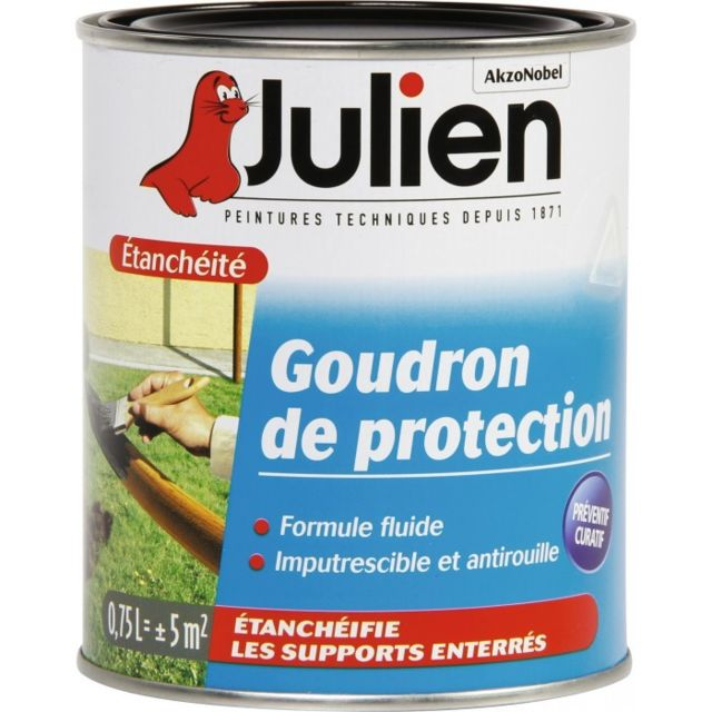 Julien - Goudron de protection - 750 ml - JULIEN - Revêtement sol & mur