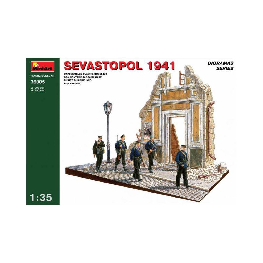 Mini Art Sevastopol 1941 - Décor Modélisme