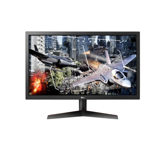 "LG - 23.6"""" LED 24GL600F-B - Moniteur PC Gamer"