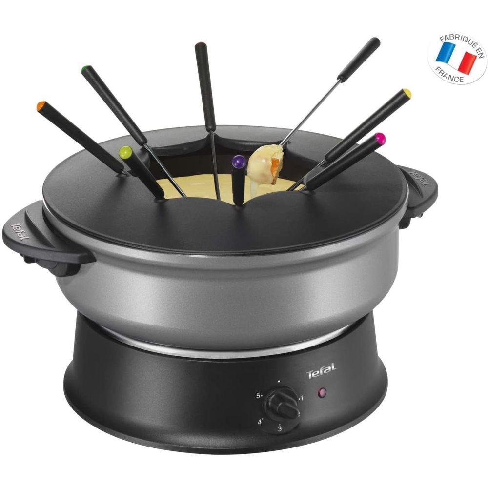 Tefal appareil à wok et Fondue pour 8 personnes 1200W noir gris