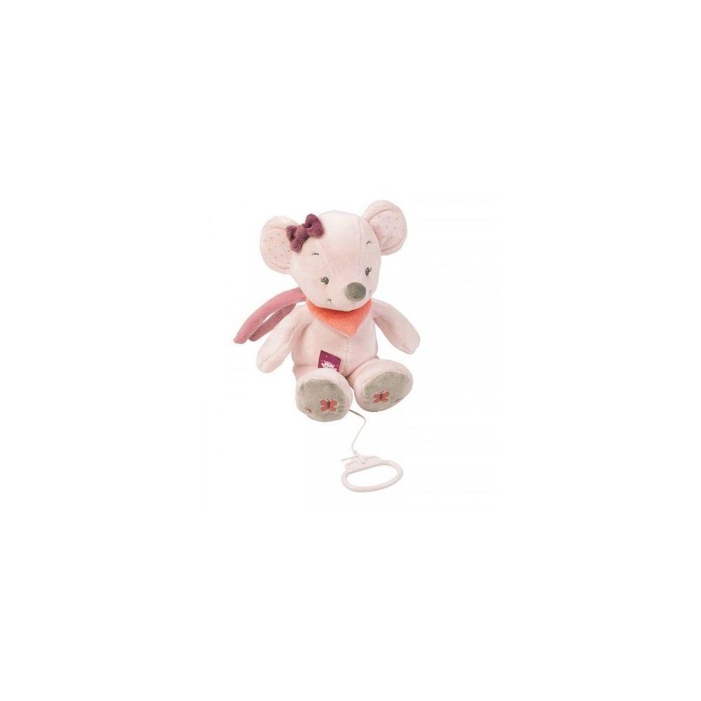 Nattou Peluche musicale Valentine la souris - Nattou
