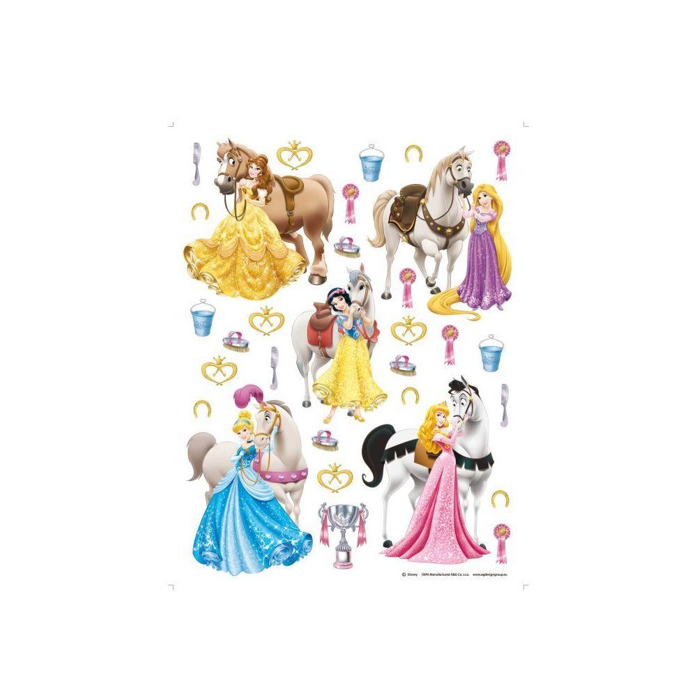 Bebe Gavroche 31 Stickers géant Chevaux et Princesse Disney