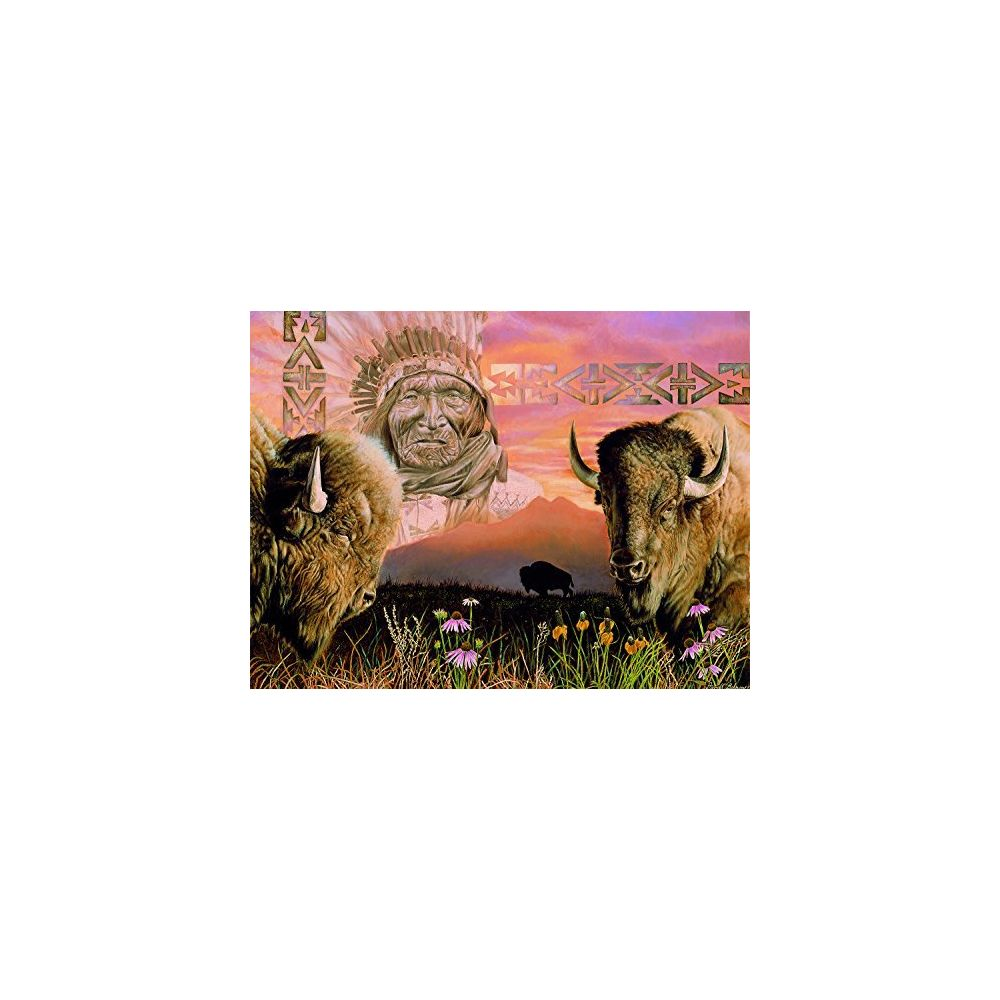 Sunsout Keeper of the Plains 500 Piece Jigsaw Puzzle by SunsOut