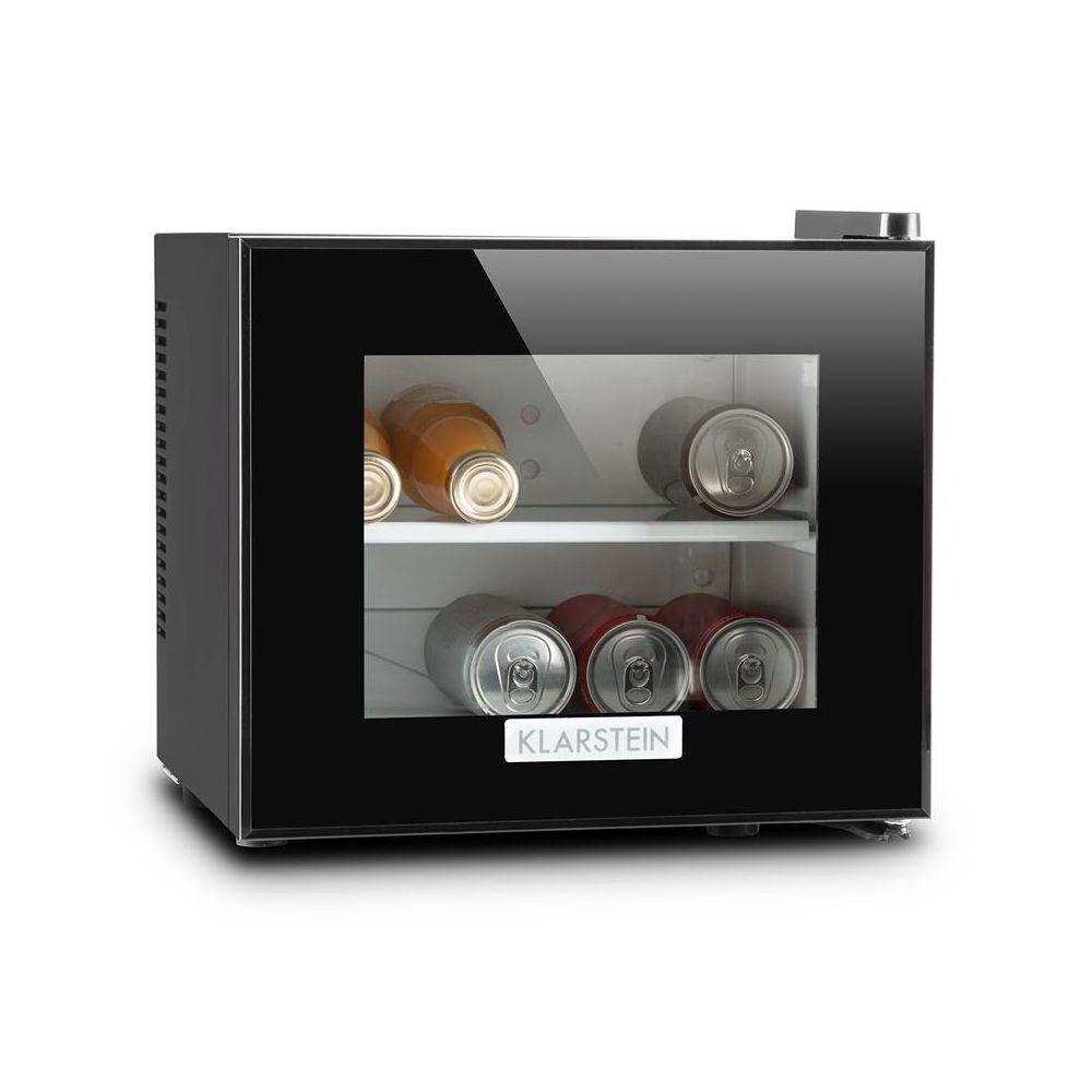 Klarstein Klarstein Frosty Mini frigo Réfrigérateur compact 10L 65W Classe B- noir Klarstein