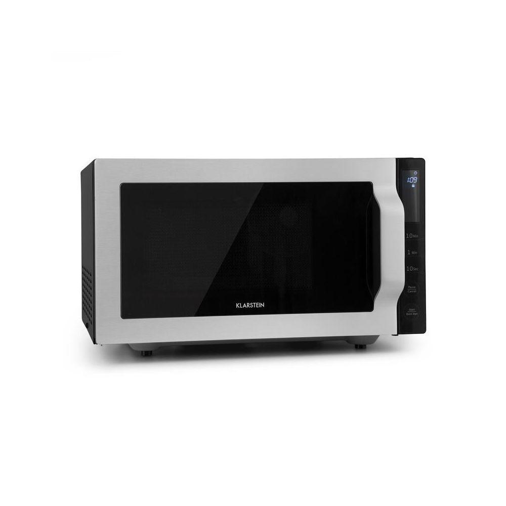 Klarstein Klarstein Brilliance Roomy Four micro-ondes 25L 900W/ grill 1000W - argent Klarstein