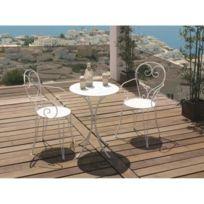 Soldes Table jardin romantique - 2e démarque Table jardin ...