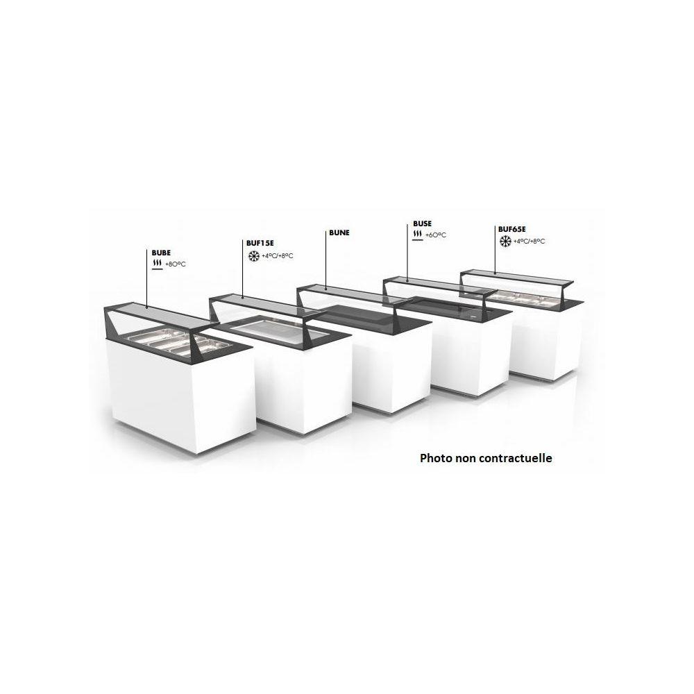 Materiel Chr Pro Buffet de Service Réfrigéré Cuve Froide - 1300x700 mm - SAYL -