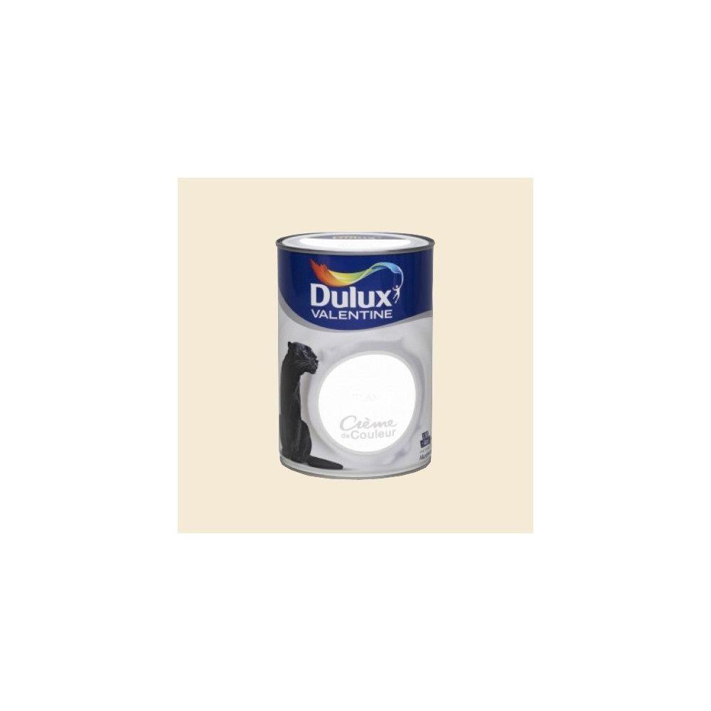 Dulux Valentine DULUX VALENTINE Peinture acrylique Crème de couleur Lin brut