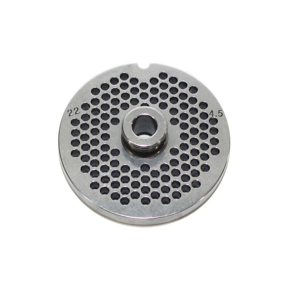 Reber reber - grille inox 4,5mm pour hachoir reber n°22 - 4714 a/4