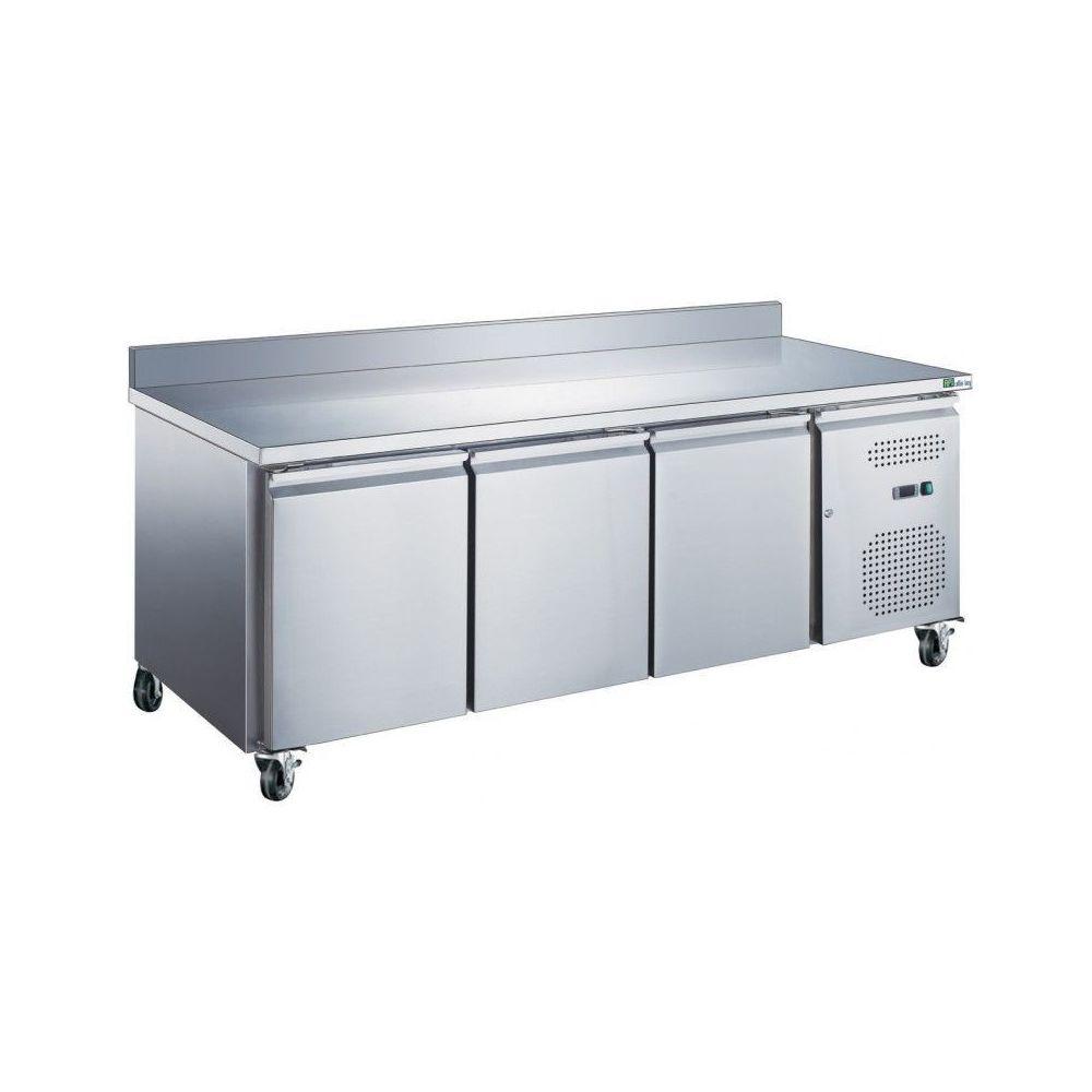 Materiel Chr Pro Table Réfrigérée Positive avec Dosseret GN 1/1 Série STAR - 282 L à 553 L - AFI Collin Lucy - 1795 m