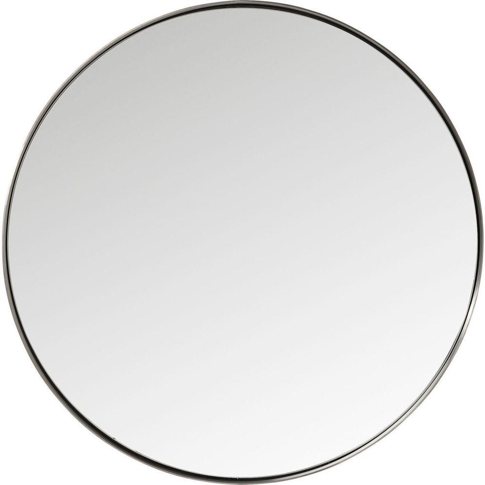 Karedesign Miroir Curve rond acier 100cm Kare Design