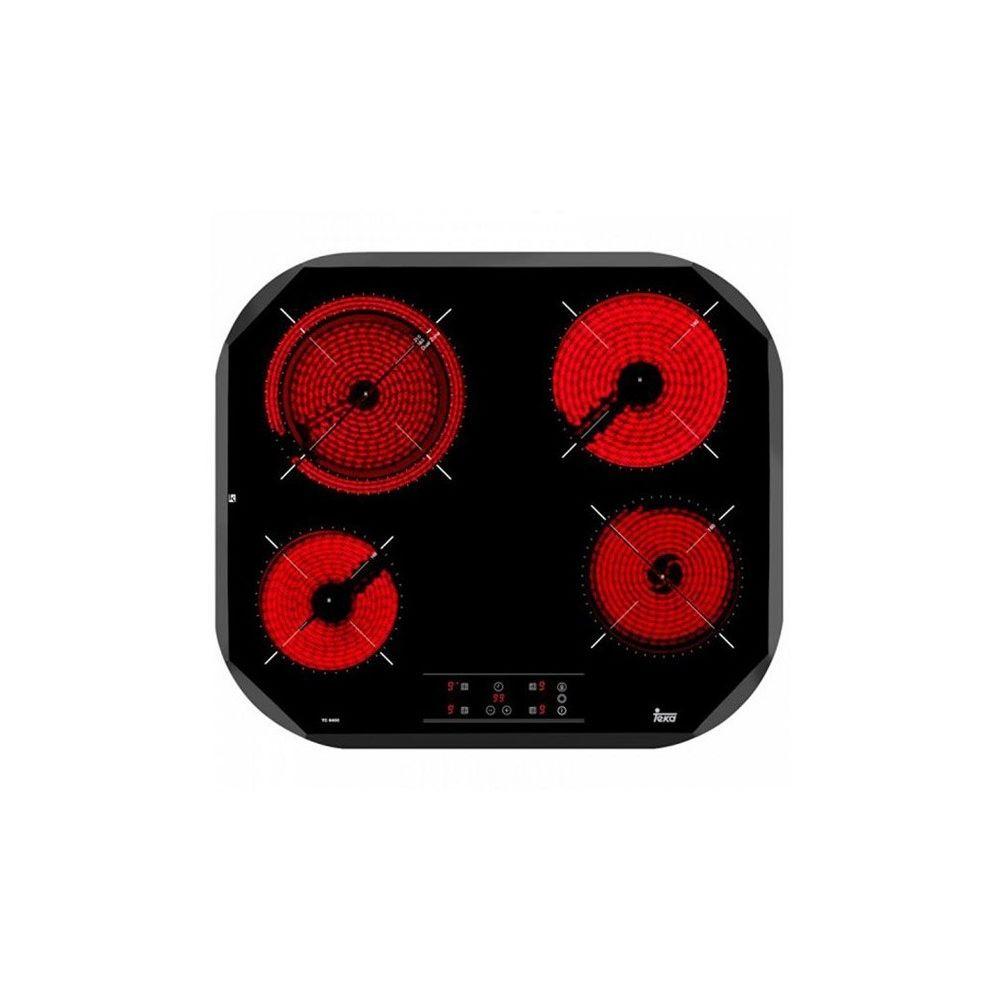 Teka Plaques vitro-céramiques Teka 219128 6500W 60 cm Noir