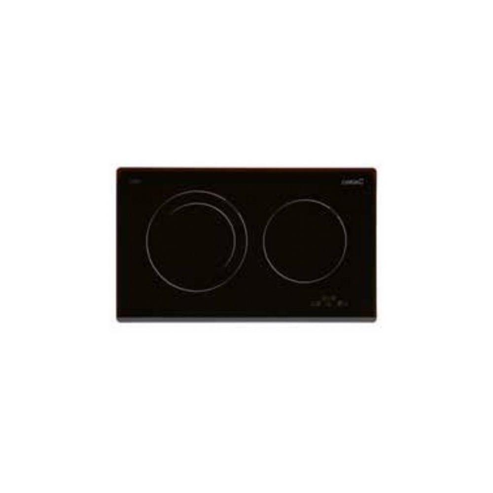 Cata Plaque à Induction Cata IB2 PLUS BK 60 cm Touch Control Noir (2 zones de cuisson)