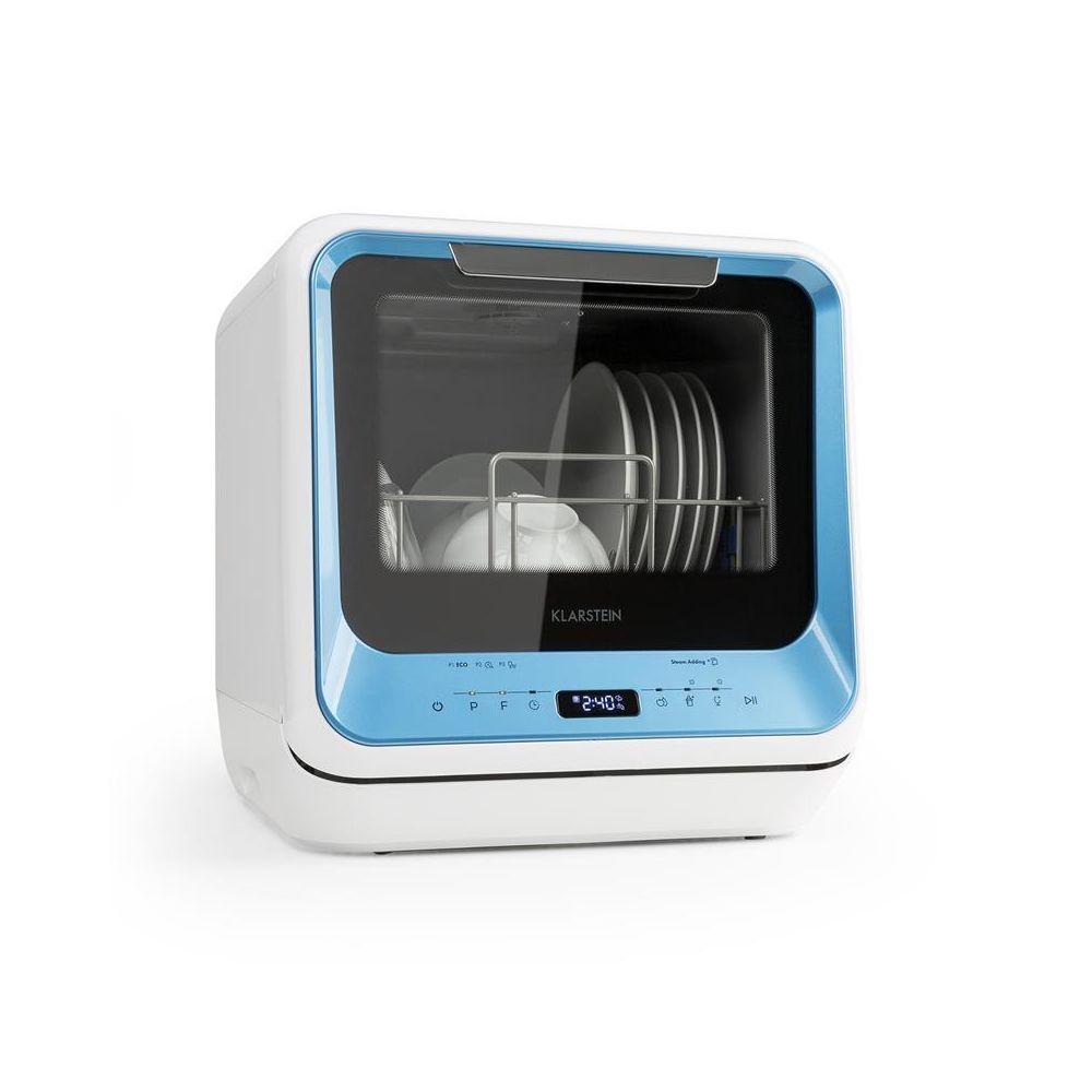 Klarstein Klarstein Amazonia Mini lave-vaisselle 6 programmes écran LED classe A - bleu Klarstein