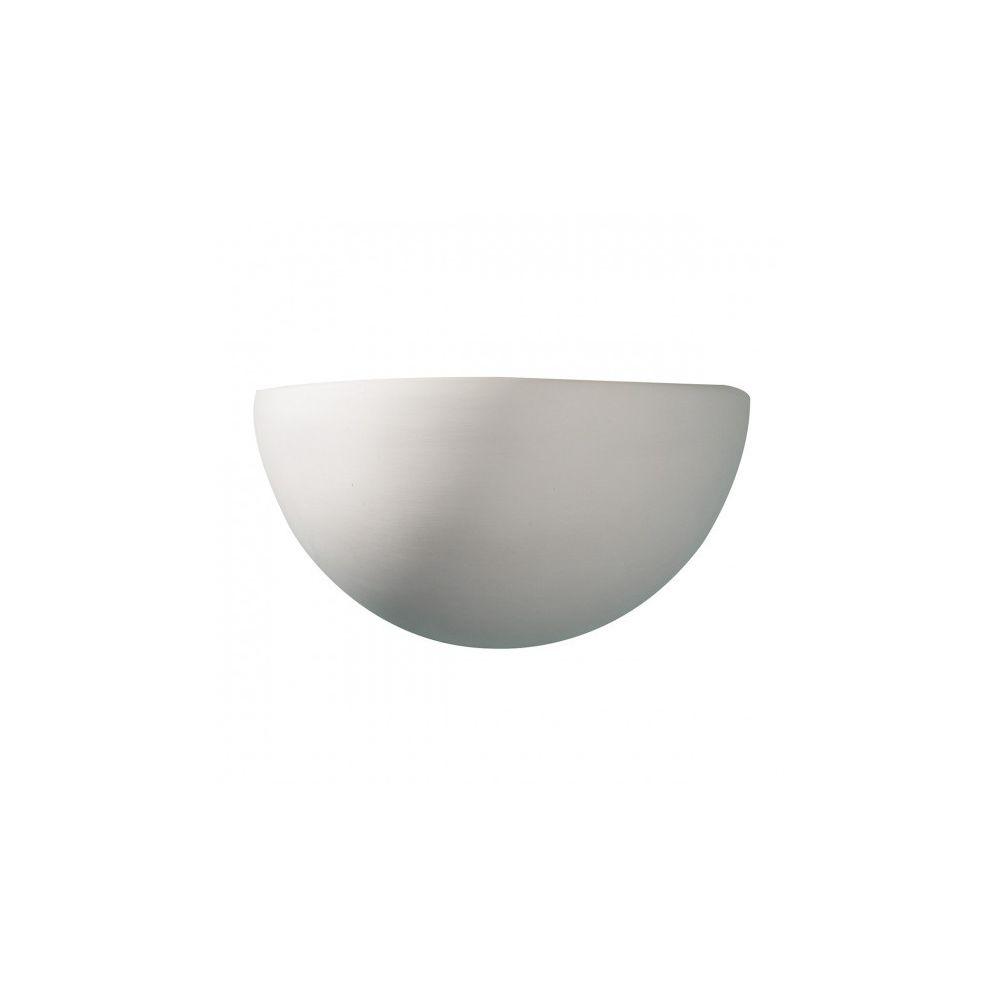 Luminaire Center Applique murale Marino blanc et céramique 1 ampoule