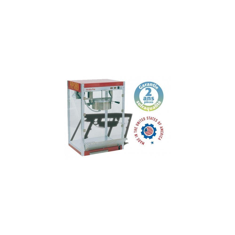 Sofraca Machine à pop-corn professionnelle - THRIFTY POP 8 - Sofraca -