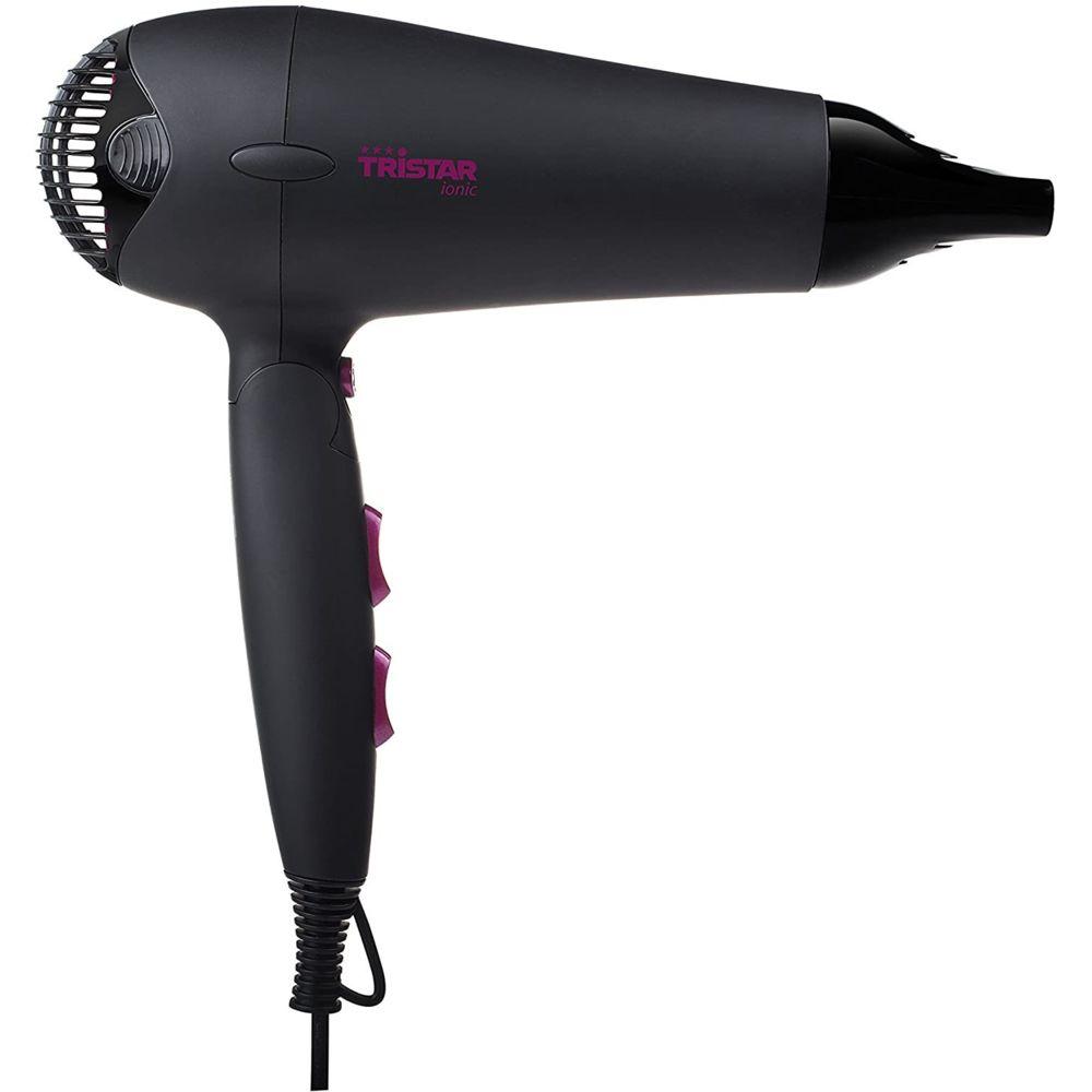 Tristar Sèche Cheveux De Voyage avec Poignée pliable 2000W noir