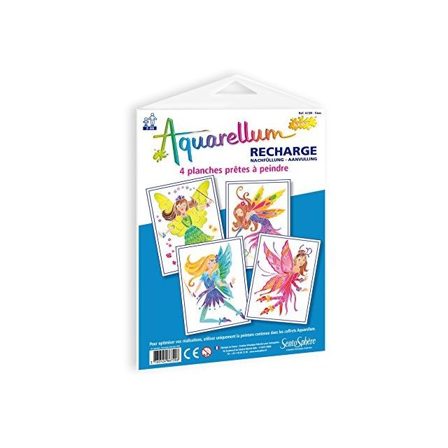 SentoSphere - Sentosphere - 672R - Top-Up Kit - Aquarellum Junior - Fairies 2 - SentoSphere