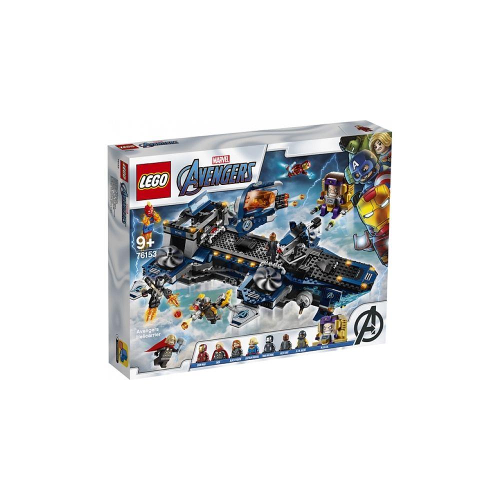 Lego 76153 L heliporteur des Avengers LEGO Marvel Super Heroes