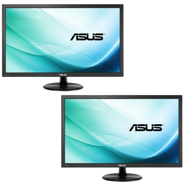 Asus - Lot de 2 21,5'' LED VP228HE - Moniteur PC Gamer