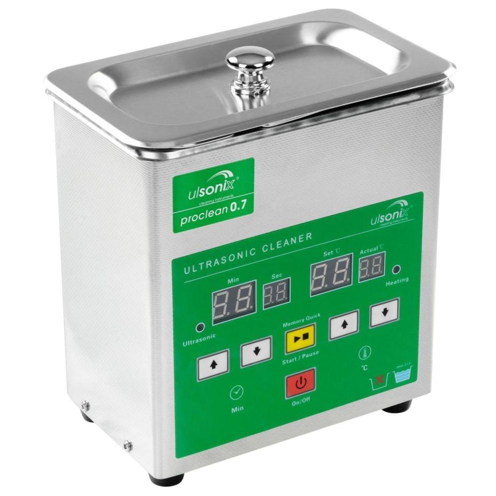 Helloshop26 Nettoyeur à ultrasons acier inoxydable professionnel 0.7 litres 3414166