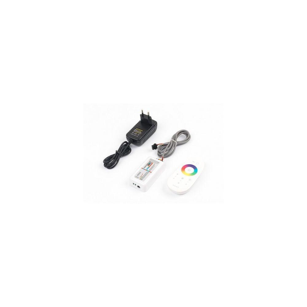 Desineo Telecommande + contrôleur tactile radio pour spot led rgb ip68