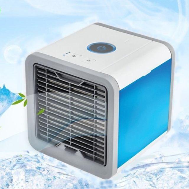 humidificateur 3 Vitesses de Vent climatiseur Mobile 4 en 1 Mini Ventilateur USB Songway Refroidisseur dair Portable purificateur et diffuseur dar/ômes avec r/éservoir deau