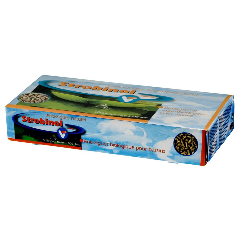 Velda Velda - Anti-algues Biologique Strobinol pour Bassin - 3L