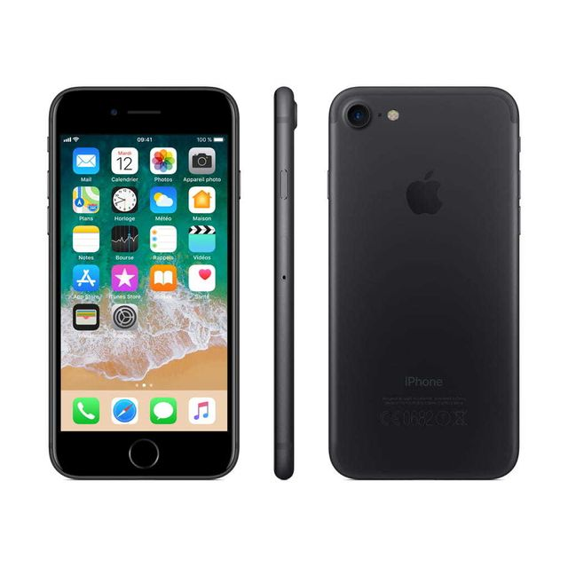 Apple - iPhone 7 - 256 Go - MN972ZD/A - Noir - iPhone 256 go