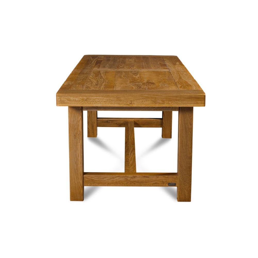 HELLIN   Table de ferme LA BRESSE   bois chêne massif   Tables à ...