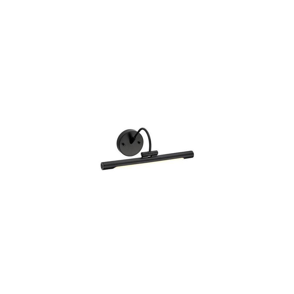 Elstead Lighting Applique Tableau Alton Noir 1x4,6W LED