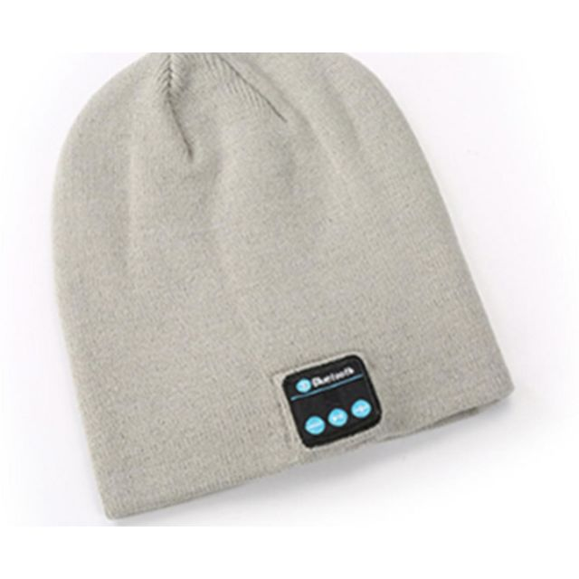marque generique -YP Select Bluetooth Hat Bluetooth Beanie Hat with Bluetooth 5.0 Built-in Stereo Mic Fit for Outdoor Sports-Gris marque generique  - Ecouteurs intra-auriculaires