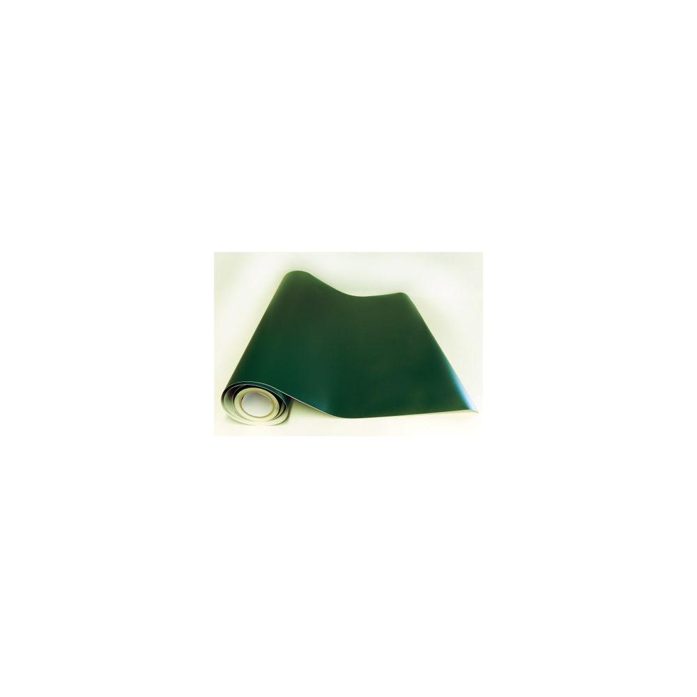 Adzif Biz Rouleau adhésif - Papier peint autocollant Vert foncé mat (10 m x 123 cm)