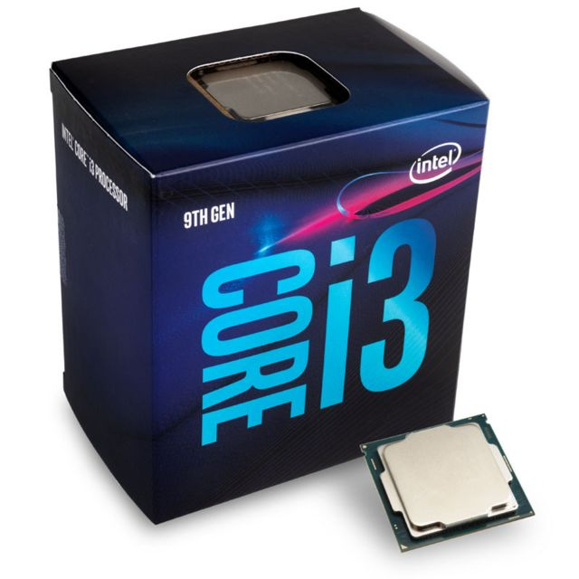 Intel - Intel Core i3-9100 3,6 GHz (Coffee Lake) Sockel 1151 - boxed - Processeur INTEL
