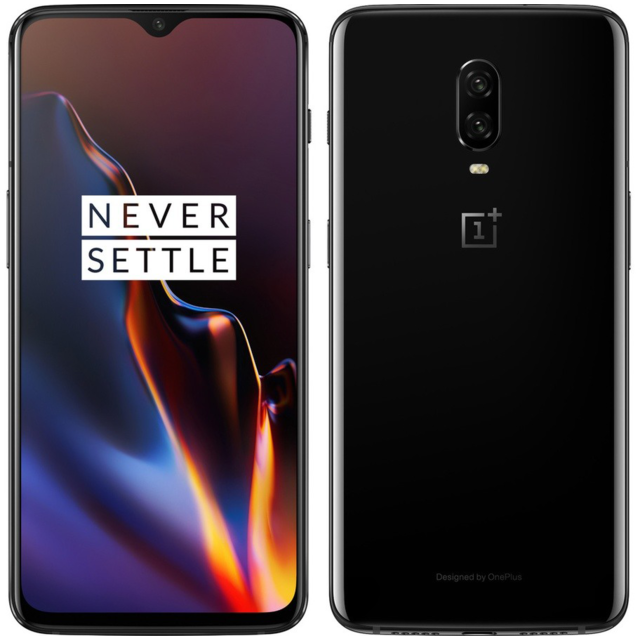 Oneplus -6T - 8 / 128 Go - Mirror Black Oneplus  - Smartphone Android Oneplus 6t
