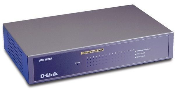 D-Link - D-LINK - DES-1016D - Switch