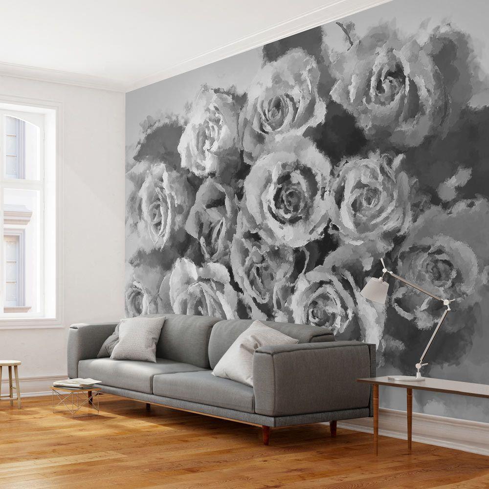 Bimago Papier peint - A dozen roses - Décoration, image, art   Fleurs   Roses  