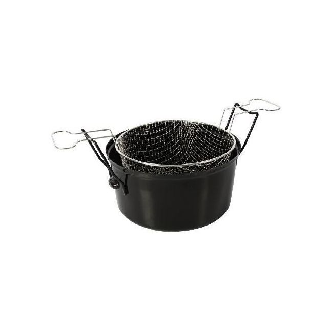 Icaverne - FRITEUSE Friteuse - 505629 - Ø28Cm Emaille Induction - Friteuse