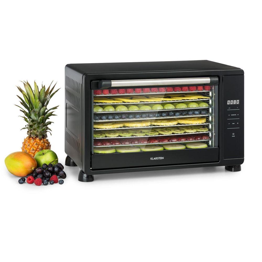 Klarstein Klarstein Mega Jerky Déshydrateur alimentaire 8 plateaux 650W - Température de 35 à 80 °C - Noir