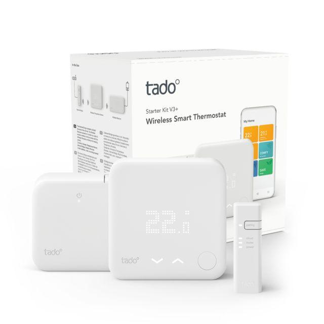Tado - Kit de démarrage V3+ - Thermostat Intelligent sans fil