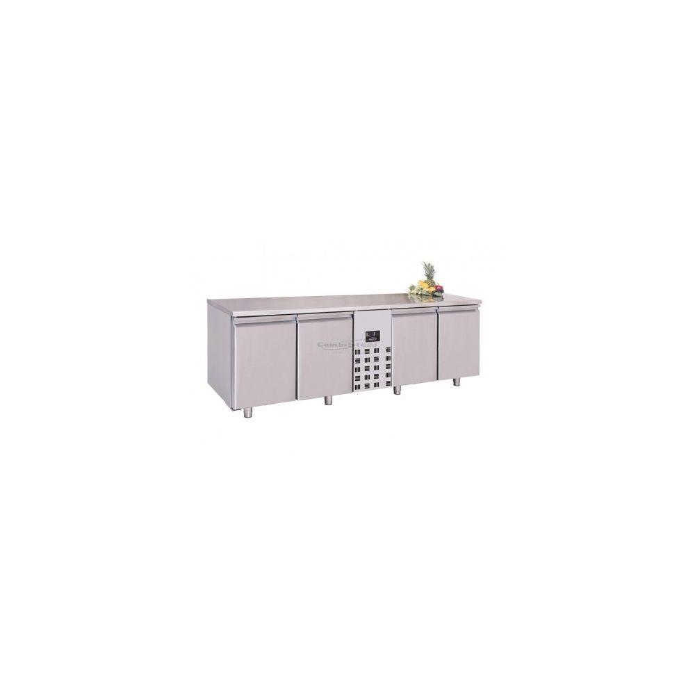 Combisteel Table réfrigérée profondeur 700 - 4 portes - Combisteel - 700
