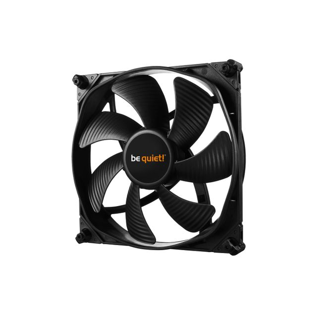 Be Quiet - Ventilateur Silent Wings 3 - 120mm PWM High-Speed - Ventilateur Pour Boîtier