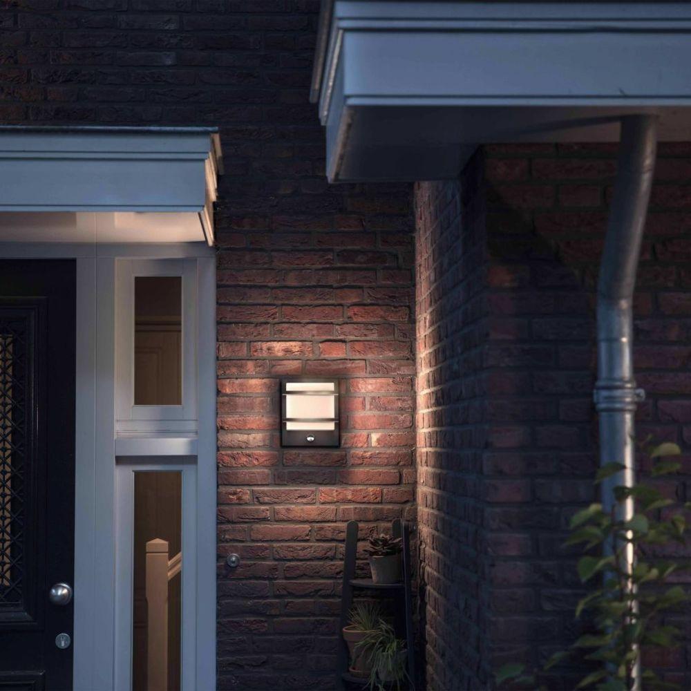 Philips Philips myGarden Applique Murale LED à Capteur Petronia Lampe d'Extérieur