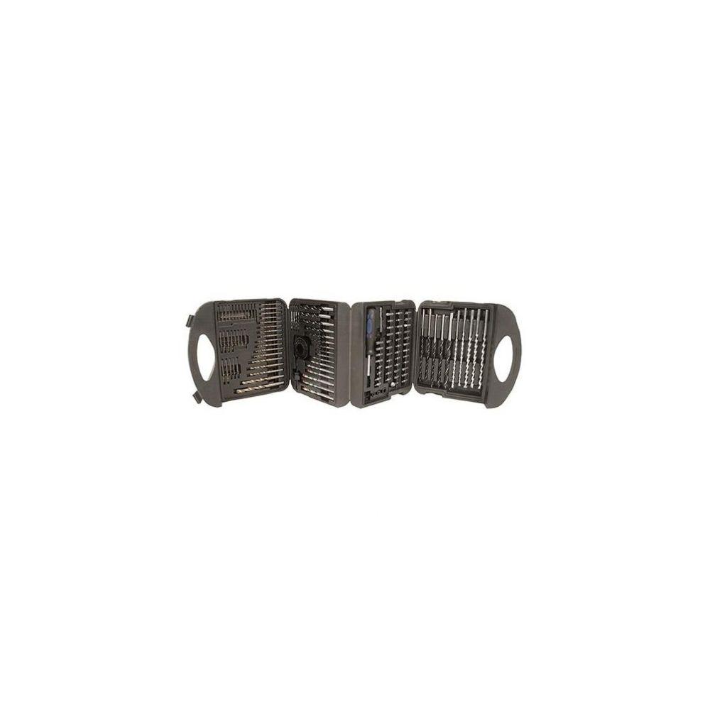 Silverline Mallette de 126 accessoires pour perceuse/visseuse - 868871