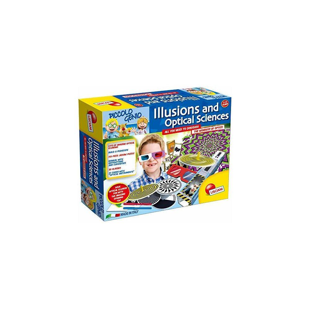 Lisciani Lisciani E50185 I'm Genius Illusions and Optical Sciences Multicolour One Size
