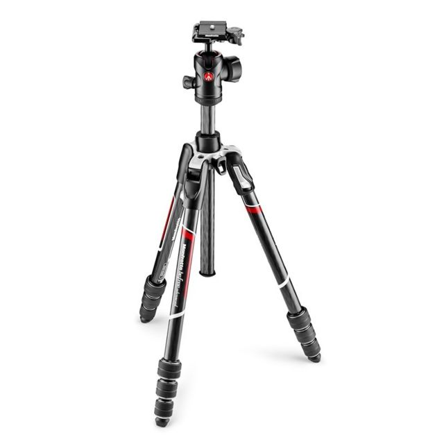 Manfrotto - MANFROTTO Trépied Befree Advanced Carbone MKBFRTC4-BH twist lock avec rotule ball - Manfrotto