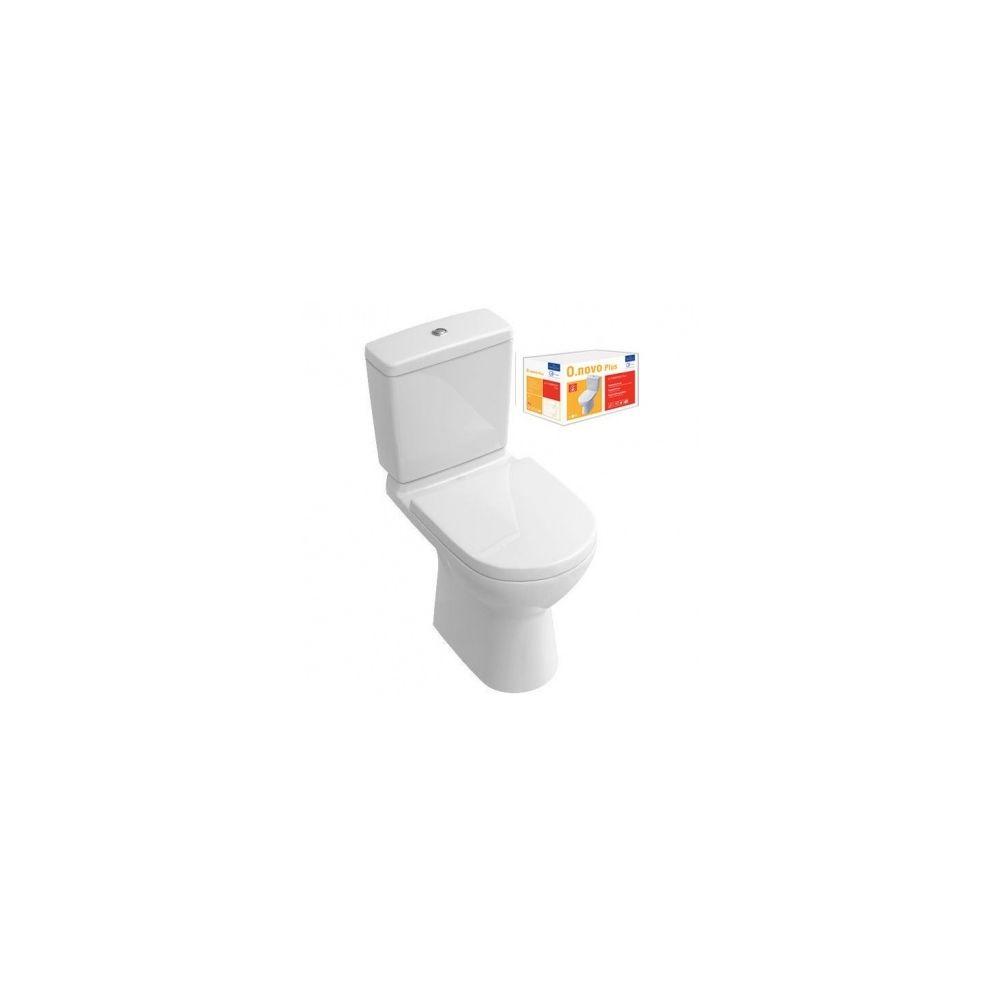Villeroy & Boch VILLEROY + BOCH Pack WC sur pied O.novo Plus sortie verticale